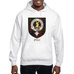 Oliver CLan Crest Tartan Hooded Sweatshirt