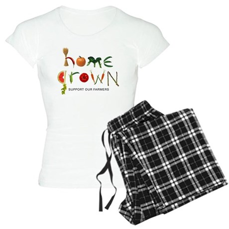 Home Grown. Support our Farme Women's Light Pajama