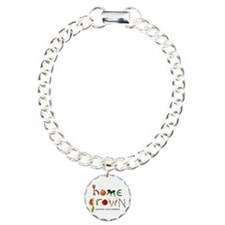 Home Grown. Support our Farme Charm Bracelet, One