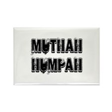 Muthah Rectangle Magnet