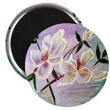 """Sunset Magnolias"" 2.25"" Magnet (10 pack)"