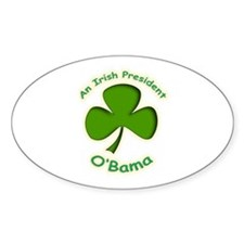 Irish Obama Decal