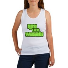 Hot Like Wasabi Women's Tank Top