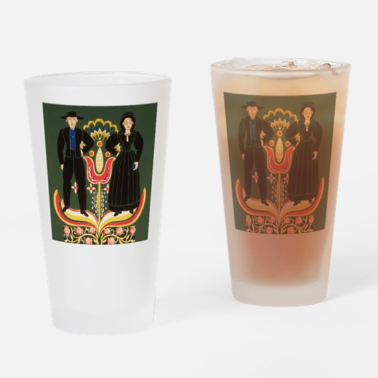 Pennsylvania Dutch Drinking Glass