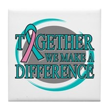 Hereditary Breast Cancer Support Tile Coaster