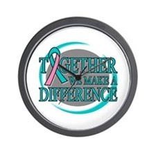 Hereditary Breast Cancer Support Wall Clock