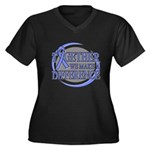 Esophageal Cancer Support Women's Plus Size V-Neck