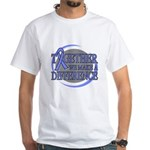 Esophageal Cancer Support White T-Shirt