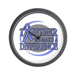 Esophageal Cancer Support Wall Clock