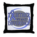 Esophageal Cancer Support Throw Pillow