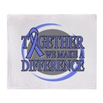 Esophageal Cancer Support Throw Blanket