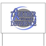 Esophageal Cancer Support Yard Sign