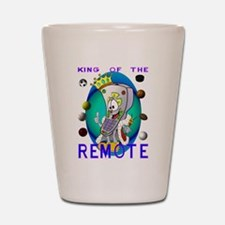 King of the Remote Shot Glass