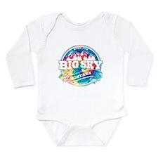 Big Sky Old Circle Long Sleeve Infant Bodysuit
