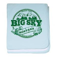 Big Sky Old Circle baby blanket