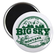 Big Sky Old Circle Magnet