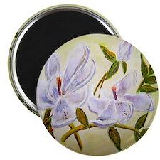 """""""Magnolias II"""" 2.25"""" Magnet (10 pack)"""
