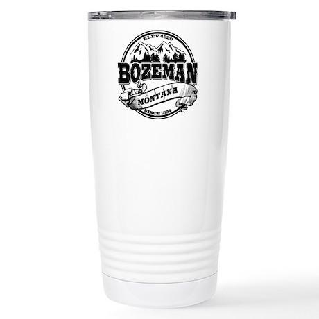 Bozeman Old Circle Stainless Steel Travel Mug