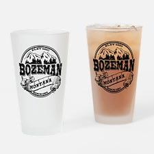 Bozeman Old Circle Drinking Glass