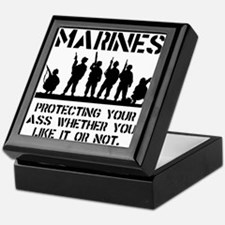 Marines Protect Keepsake Box