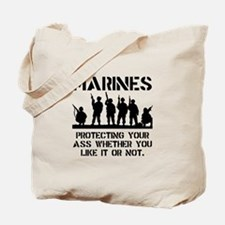 Marines Protect Tote Bag