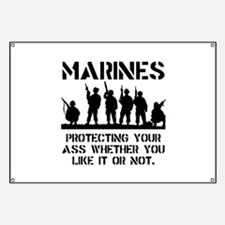 Marines Protect Banner