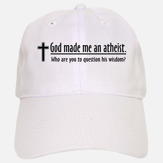 Atheist Baseball Baseball Cap