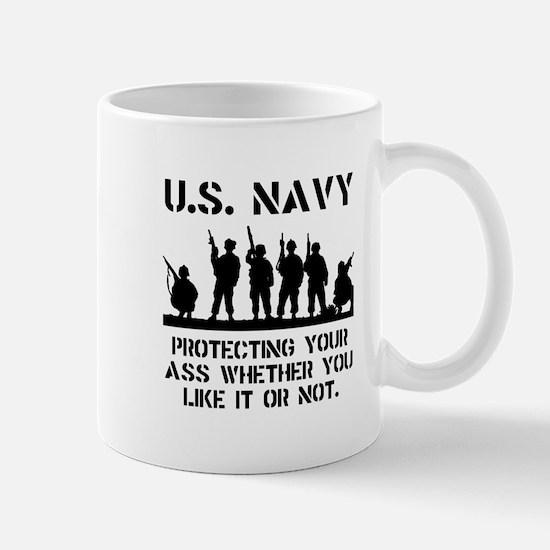 Navy Protect Mug