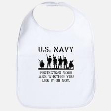 Navy Protect Bib