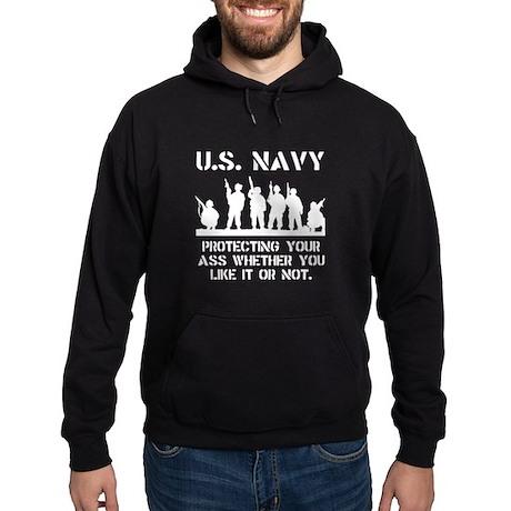 Navy Protect Hoodie (dark)
