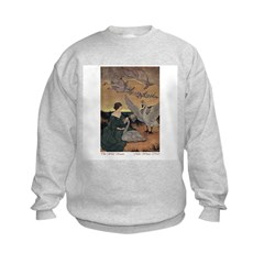 Winter's Wild Swans Sweatshirt