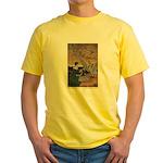 Winter's Wild Swans Yellow T-Shirt