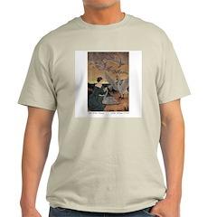 Winter's Wild Swans Ash Grey T-Shirt