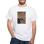 Winter's Wild Swans White T-Shirt