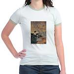 Winter's Wild Swans Jr. Ringer T-Shirt