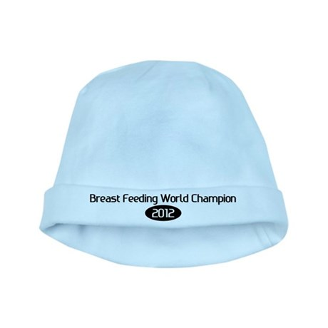 breast feeding world champion 2012 baby hat