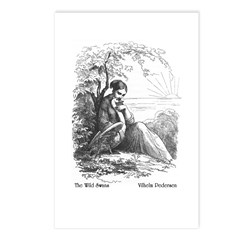 Pedersen's Wild Swans Postcards (Package of 8)