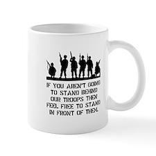 Stand Behind Troops Mug