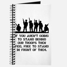 Stand Behind Troops Journal