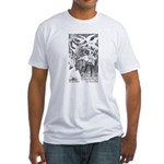 Ford's Six Swans  Fitted T-Shirt