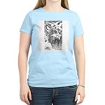 Ford's Six Swans  Women's Pink T-Shirt