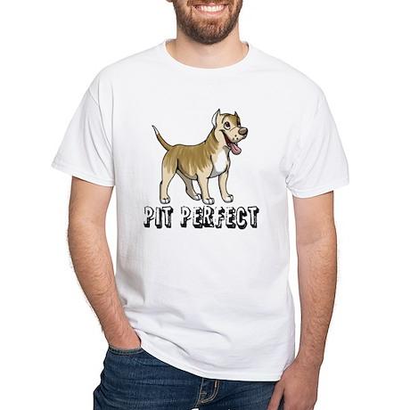 Pit Perfect(White T-Shirt)