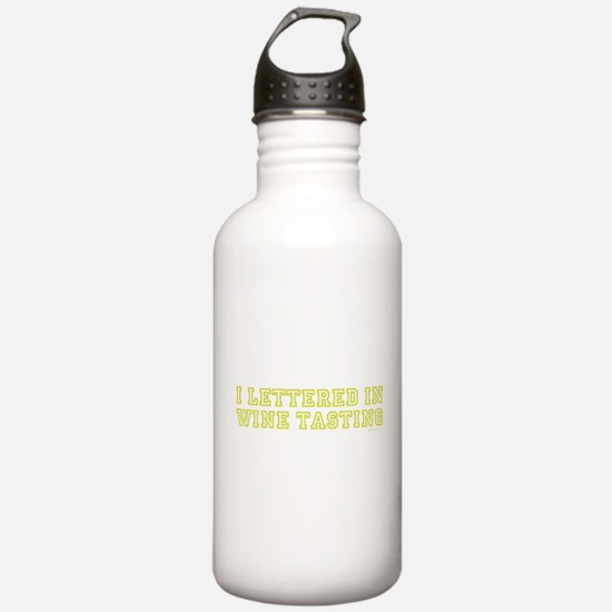 LETTERED - GREEN Water Bottle