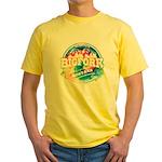 Bigfork Old Circle Yellow T-Shirt