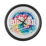 Bigfork Old Circle Large Wall Clock
