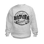 Bigfork Old Circle Kids Sweatshirt