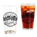 Bigfork Old Circle Drinking Glass