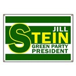 Jill Stein for President Banner