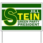 Jill Stein for President Yard Sign