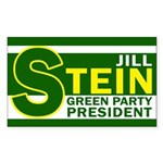 Jill Stein: Green Party President Sticker